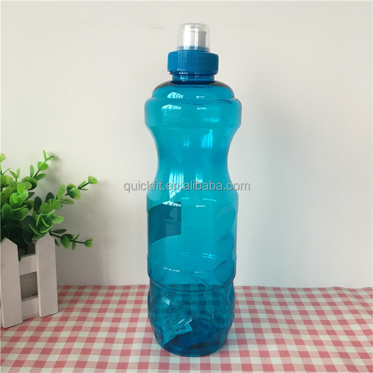 700ml Transparent Slim space bottle Leakproof Table Tennis Tritan Unbreakable water bottle