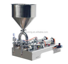 300-2500ml Multifunction table top liquid filling machine/double heads shampoo water oil semi-automatic filler