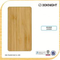wooden power bank 6000mah laptop powerbank for Apple iPhone 6 6s