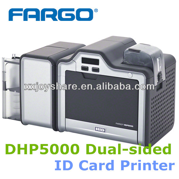 FARGO HDP5000 Dual sided PVC card printing machine ID CARD <strong>PRINTER</strong>