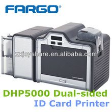 FARGO HDP5000 Dual sided PVC card printing machine ID CARD PRINTER