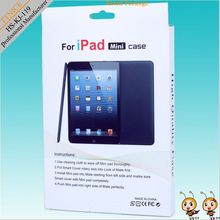folded paper packaging box for ipad mini with clear/pvc window