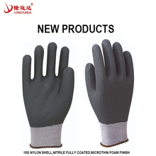 Gloves work safety, dipped work hand gloves for construction work