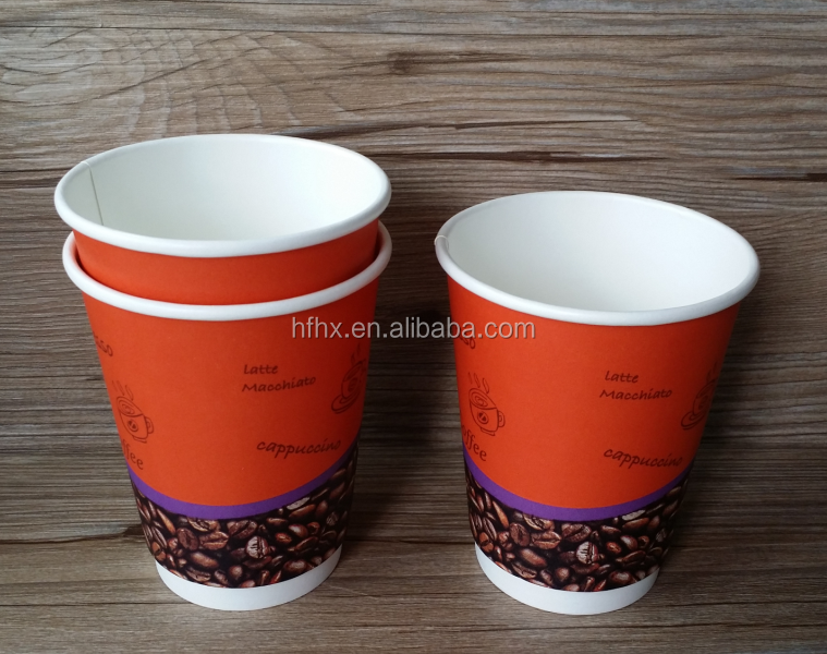 Beverage use 20oz double wall paper cup 100% compostable coffee cups