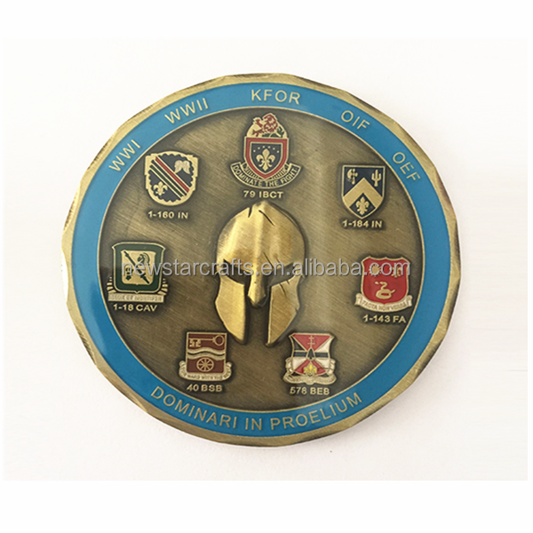 Custom American Military Old Coins Legion Marine Corps Collection