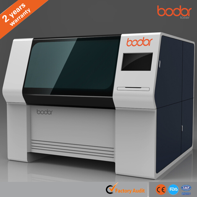 Hot Sale CNC and 3 years warranty Mini Fiber Laser Cutter for carbon steel, stainless steel, gold etc