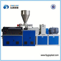 china two layer stretch film extruder price