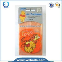 Customized And Fashional Design paper card air freshener