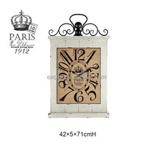 Wood MDF Antique clock