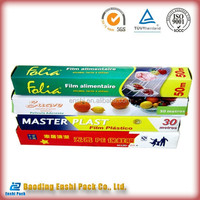 Canada food grade cling film eazy cut factory direct sale