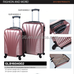 20'' 24'' 28'' Travel Trolley ABS+PC OEM Personalized Luggage Sets/Colorful Zipper Luggage, Trolley Luggage