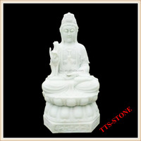 The Goddess Of Mercy buddha marble statue