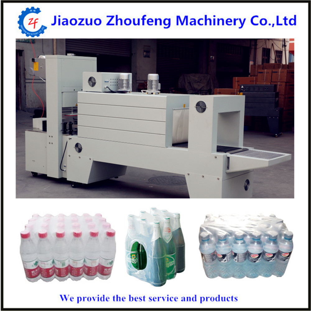 Semi-automatic Plastic Bottle Shrinking Packing Machine Heat Shrink Wrapping Machine(Whatsapp:008613782839261)