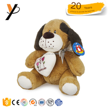 Soft Kids Puppy White Cute Dog Toys Custom Puppy Toys