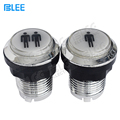 Arcade machine parts factory direct wholesale electric plating zero delay illuminated switch LED arcade push button