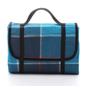 Color customized waterproof outdoor portable pocket picnic blanket for camping