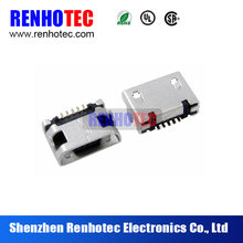 short 2.0 usb type mini b smd connector port