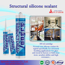 clear structural silicone sealant/silicone pouring sealant/pipe silicone sealant adhesive
