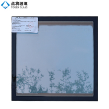 Champagne Tinted Vacuum Insulated Glass Curtain Wall System