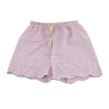 Hottest Kids Summer Beach Wear Shorts Children's Seersucker Pink Half Pants