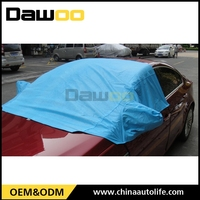 Hail proof silk-screen printing car sun shade mesh