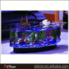 LED Acrylic Aquarium Fish Tank Display Stand