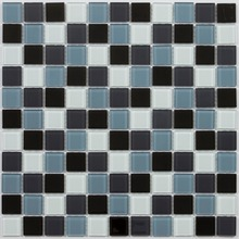 Hot sell glass mosaic tile white/black/blue/green any color special wall decoration for bathroom