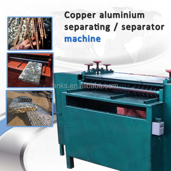 Radiator separator machine Copper and aluminum separator machine for sell