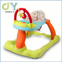 Lastest infant walkers good kids walker manufacturer custom foldable rolling baby walker
