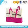Favorable price new design fashion style colorful handled pp non woven bag , non woven bag