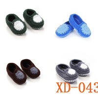 Wholesale Knitting pattern baby shoes crochet baby shoes free for baby boys