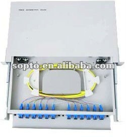 12 Ports FTTH Fiber Optic Terminal Box ODF