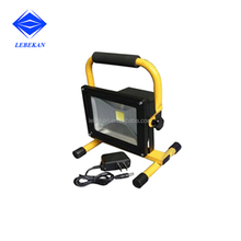 High Performance Wholesale New 10w 20w rechargeable outdoor handheld corded work flood light