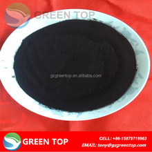 Low iron content wood activated carbon for citric acid decolorizing