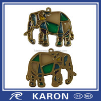 novelty customized live animal keychain with enamel