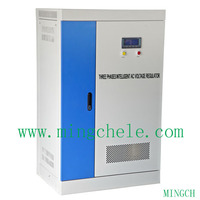 180kilowatt three phases electric motor voltage stabilizer,servo-motor type stabilizer