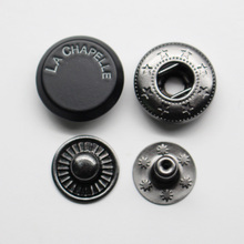 custom clothing snap metal press snap fasteners for jackets