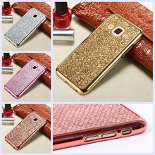 Fashion Glitter Bling Case for Samsung Galaxy S7 edge S6 S5 Neo S4 Mini A3 A5 J1 J3 J5 J7 2016 Grand Prime G531H Neo Plus I9060i