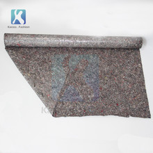 Grey Tear-Resistant Nonwoven Painter Cover fleece felt with pe film