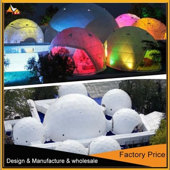 Hot Sale white and outdoor Big Dome Tent For Sale
