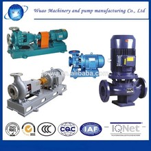 Factory direct sales chemical centrifugal european swing pump lining suction pump anti-corrosion