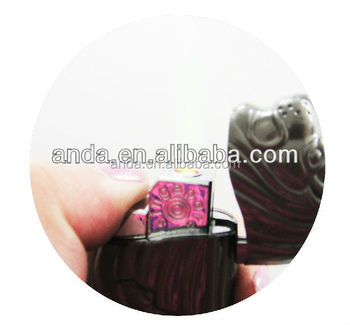 windproof cigarette lighter in merlion shape