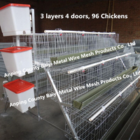 Chicken Layer Cage For Poultry Farm In Ghana
