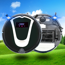 All Parts and Multifunction Mini Vacuum Cleaner Battery Operated Silent Vacuum Robot Cleaner Hard Floor Sweeping Machine