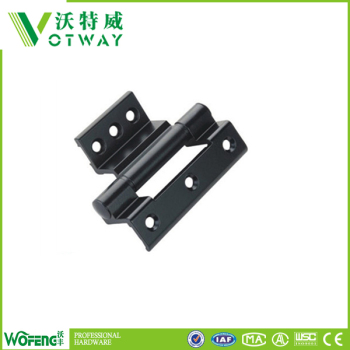 Aluminum hinges for aluminum windows