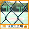 Hebei ISO factory direct sale green chain link fence