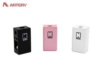 Artery 50W Nugget box mod supported Suppor kanthel/Nichrome/NI/Ti/SS wire coil