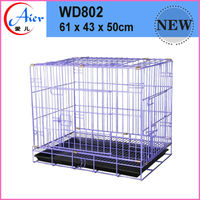 folding steel storage cage dog pens kennels