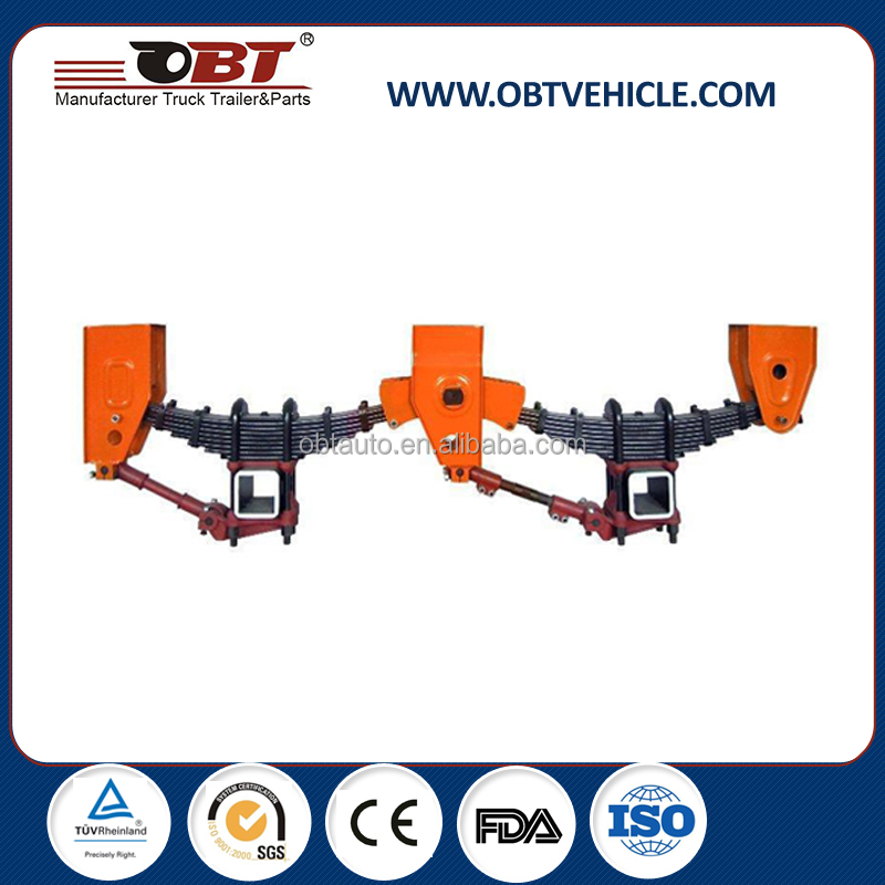 semi trailer suspension system mechanical suspension trailer suspension