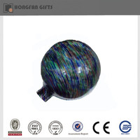 colorful circle glass ball to decoration